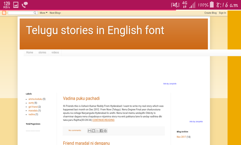 Telugu sex stories in English font: Amazon co uk: Appstore for Android