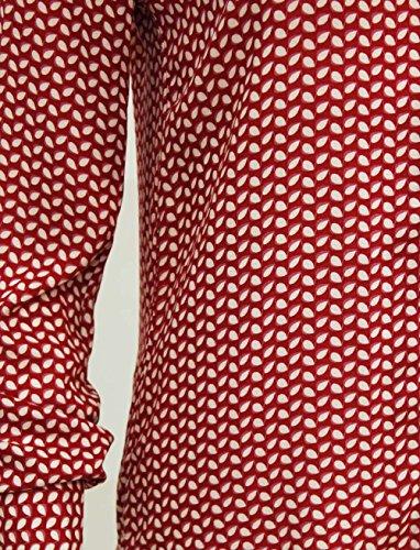 Ma Coquette Damen Langarmshirt Rot - Rot