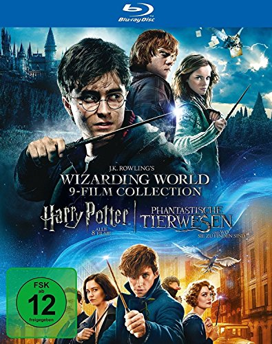 9-Film-Collection: Harry Potter und Phantastische Tierwesen (exklusiv bei Amazon.de) [Blu-ray] [Limited Edition]