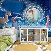 Disney Princess Cinderella Photo Wallpaper Wall Mural (2404FW), Fleece (Easyinstall), XXL - 312cm x 219cm