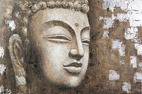 Tallenge - Gautam Buddha Oil Painting - Unframed Rolled A3 Size Poster (11.6x16.5 inches)  available at amazon for Rs.149