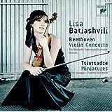Beethoven: Violin Concerto & Tsintsadze: Miniatures