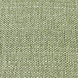 Just Contempo Basket Weave Vorhänge und Kissen, Polyester, grün, Cushion 17x17 inches