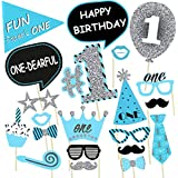 Party Propz BOYS 1st Birthday Party Propz / Boys 1st Birthday Party Supplies/ Boys 1st Birthday Party Decoration