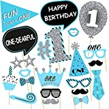#4: Party Propz BOYS 1st Birthday Party Propz / Boys 1st Birthday Party Supplies/ Boys 1st Birthday Party Decoration
