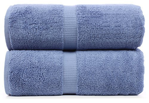 Luxus Super Soft Premium Baumwolle Bad Blatt, 700GSM, 88,9x 177,8cm seeblau -