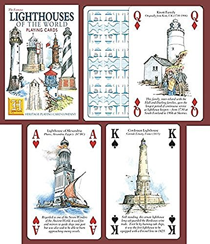 Preisvergleich Produktbild Lighthouses of the World Playing Cards