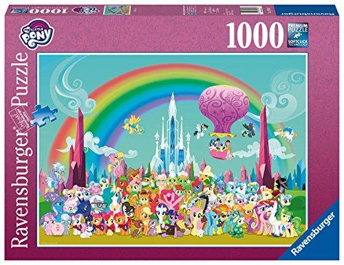 Ravensburger 19880 My Little Pony Unterm Regenbogen, Erwachsenenpuzzle (Pony Little My Pony Regenbogen)