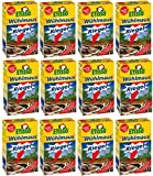 12 x 18 (216 Stk) ETISSO Wühlmaus-Riegel + Zeckenzange mit Lupe