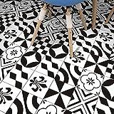 JY ART Wand-Aufkleber Küche Deko Badezimmer-Gestaltung - Küchen-Fliesen überkleben - Dekorative Bad-Gestaltung - Fliesen-Aufkleber 20cmx5m HB022, 20cm*5m