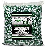 Caramelle dure balsamiche Mini Monk's Menta Liquirizia Kg 2 - L'aroma della liquirizia purissima assieme alla freschezza della menta