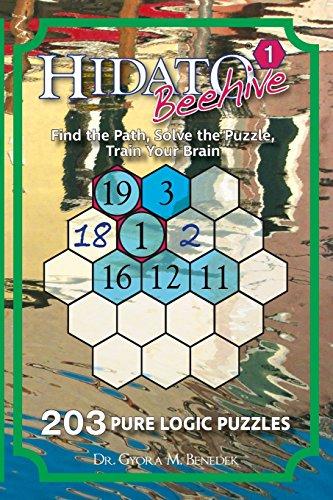 Hidato Beehive 1: 203 New Logic Puzzles