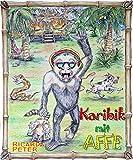 Karibik mit Affe von Ricarda Peter