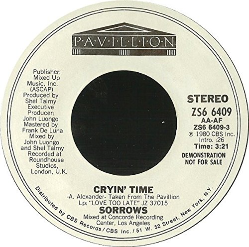 Cryin' Time [Vinyl Single 7'']