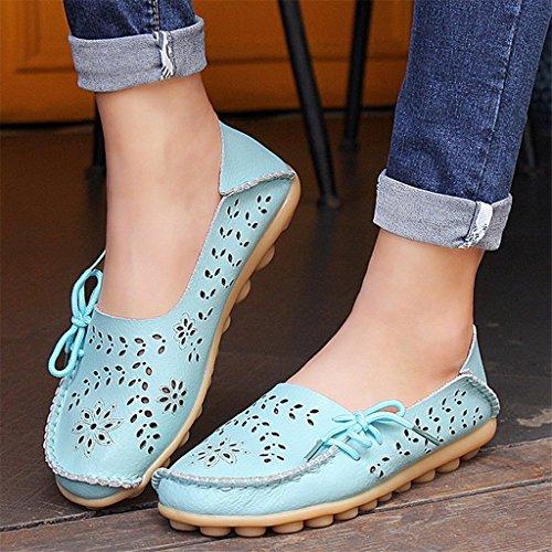 Débutant De Bon Augure Chaussures Causales Des Bidonvilles Chaussures Mocassins Des Chaussures De Bateau Pour Des Femmes.