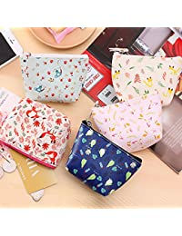 Designeez Cute Pattern Waterproof PU Cute Wallet Bag Pouch Kids Girl Women Mini Money Bag Coin Purse Zipper Change... - B079PZGNH9