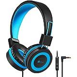 Hoofdtelefoon voor Kinderen, iClever Hoofdtelefoon voor Kinderen, Volume Limited, Stereo-Geluid, Opvouwbaar, Onverwarde Drade