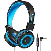 Kinder Kopfhörer, Kabel Kopfhörer für Kinder, Verstellbares Stirnband, Stereo Sound, Faltbare, Entwirrte Drähte, 3.5 mm…