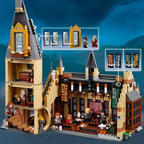 LEGO Harry Potter -  Juego de Construcción Gran Comedor de Hogwarts (75954)