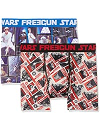 Star Wars Freegun, Boxer Homme, (lot de 2)