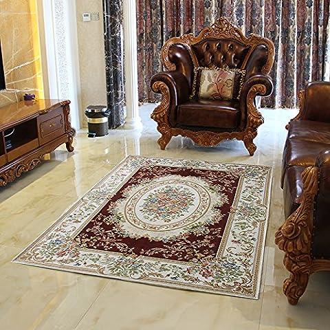 Negozio di tappeti continentale completo soggiorno tavolino