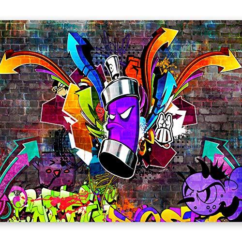 murando - Fototapete 300x210 cm - Vlies Tapete - Moderne Wanddeko - Design Tapete - Wandtapete - Wand Dekoration - Graffiti i-C-0088-a-a