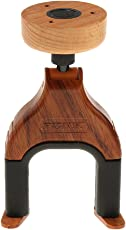 MagiDeal Guitar Hanger Guitar Wall Hook Holder Safe Lock for Electric Acoustic Guitars Bass - rosewood color, One Size