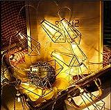 LY-JFSZ LED Lichterketten Weihnachten Kreative Dekoration HäNgen Lichter Urlaub Geschenke Schlafzimmer PersöNlichkeit HäNgen Lichter Warmweiß