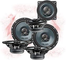 Mac Audio Front/Heck 16,5cm/10cm Auto Lautsprecher/Boxen/Speaker Komplett-Set für VW