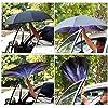 Killypo Ombrello Inverso Antivento Parasole Doppio Strato Protezione UV C Forma Impugnatura Dritta Rod Invertito Ombrello per Auto all'aperto più Fiore Modelli