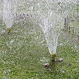 WEREWTR 1/4'1/2' 3/4'Colonna Ottone Fontana Ugello da Giardino Sprinkler Fontana Stagno Ugello Acqua Sprinkler Spray Fuochi d'artificio Acqua, Rubinetto Senza Tubo
