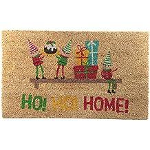 Weihnachts Kokos Fußmatte Ho! Ho! Home!