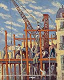 Artangle Maximilien Luce - The Scaffolding, 1910 Print