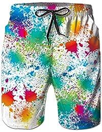 Spreadhoodie 3D Patrón Hombre Bañadores Moda Secado Rápido Bañadores Natacion Ligero Shorts Tallas Grandes para Playa Vacaciones S-XXL