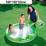 inflatable toys Sommer Neue Kinder Wasserspray Burg Aufblasbaren Pool Spielzeuge, Große Familie...