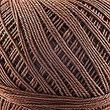 Hermanns Garne Sophia (Farbe 7864) 100% Baumwolle Häkelgarn 30g 200m Knäuel 15 Farben zum Häkeln und Stricken Baumwollgarn dünn leicht glatt und glänzend