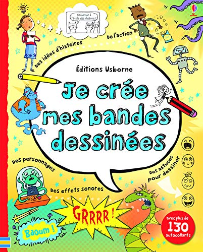 Je cree mes bandes dessinees por Louie Stowell