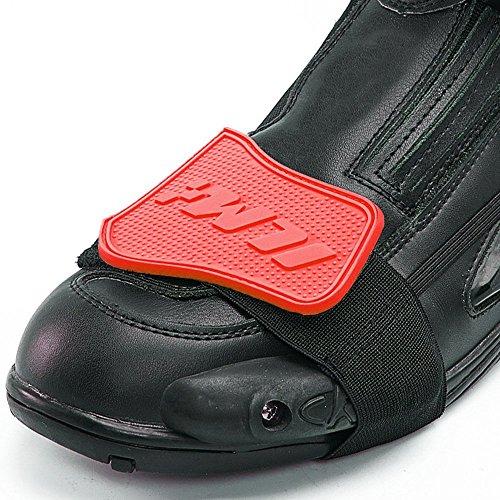 ILM - Protector de zapato para los cambios de motocicleta, 3 colores