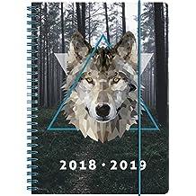 """Brunnen 1072985079 Schülerkalender """"Wolf"""", 2018/2019"""