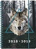 Brunnen 1072985079 Schülerkalender Wolf, 2018/2019