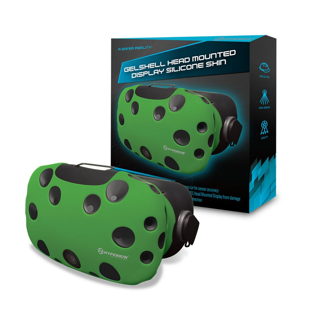 Housse Silicone Gelshell – Casque VR – Vert (HTC Vive)