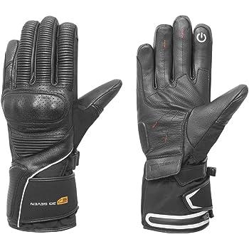 Beheizbare Winter Handschuhe aus Leder IXS X7 schwarz Gr.XL