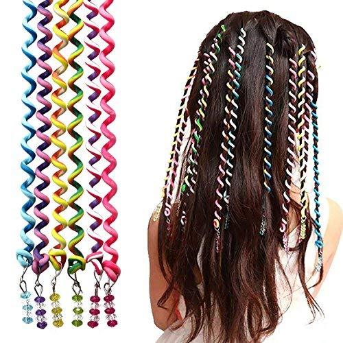 Zoom IMG-1 18 pezzi ragazze elastici capelli