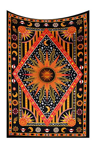 FUTURE HANDMADE Tapiz de doble costura, hecho a mano,tapicería, esterilla de yoga, decoración para el hogar o colcha