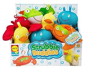 ALEX Toys Rub a Dub Scrubbie Buddies