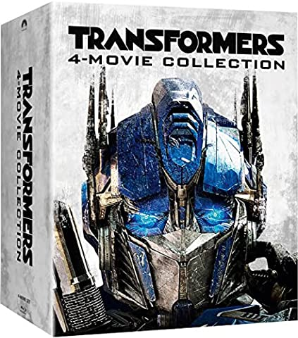 Transformers # 1-4 Bluray Collection Steelbook UK Exclusive Slipcased Limited Edition Blu-ray Boxset Only 500 Made Region Free