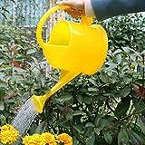 FHK Regaderas Macetas de riego Latas de riego Plástico más grueso Planta de jardín de alta capacidad Platos de flor Caldera de boca larga 3.8 litros Riego de la caldera ( Color : C )