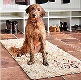 Dirty Dog Doormat Runner smart beige Hunde Schmutzfangmatte Hundematte Hundedecke XL: 120 x 60 cm