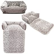 AllPetSolutions Alfie Beds Fleece Warm Dog/Cat Bed Sofa/Couch/Chair Protector, Small