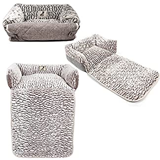 AllPetSolutions Alfie Beds Fleece Warm Dog/Cat Bed Sofa/Couch/Chair Protector (Small) 7